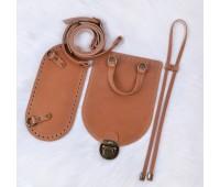 Рюкзачный комплект из натуральной кожи