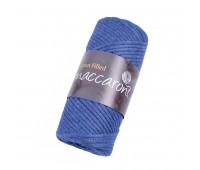 Трикотажный хлопковый шнур Cotton Filled 3 мм, цвет Джинс