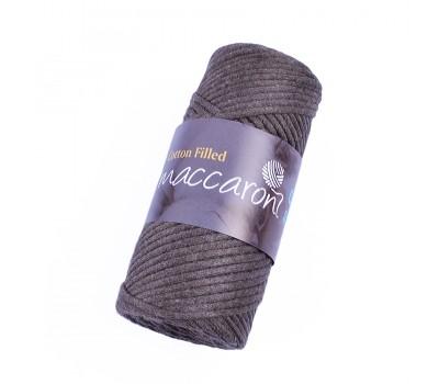 Трикотажный хлопковый шнур Cotton Filled 3 мм, цвет Какао