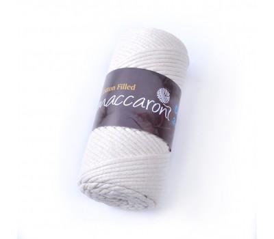 Трикотажный хлопковый шнур Cotton Filled 3 мм, цвет Молочный