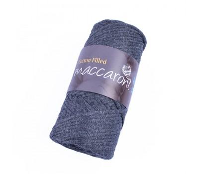 Трикотажный хлопковый шнур Cotton Filled 3 мм, цвет Сумерки