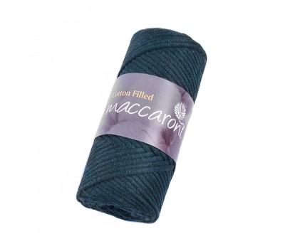 Трикотажный хлопковый шнур Cotton Filled 3 мм, цвет Темно-зеленый