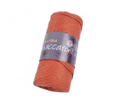 Трикотажный хлопковый шнур Cotton Filled 3 мм, цвет Терракотовый
