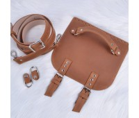 Набор из натуральной кожи для сумки-почтальонки