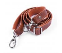 Плечевой ремень из Эко-кожи в один слой для сумки с регулированной пряжкой