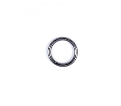 Кольцо сварное 4х25мм. Черный никель