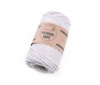 Эко шнур Macrame Rope 4 мм Льняной