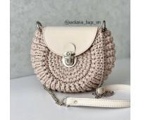 Комплект из Эко-кожи для сумки Орео с комбинированным ремешком
