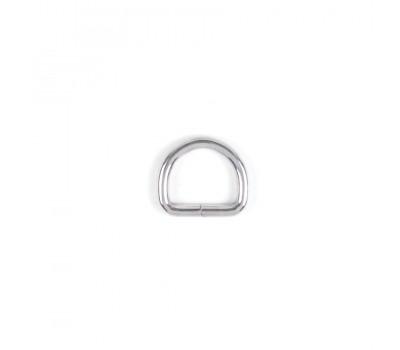 Полукольцо проволочное размер 4х20х15 мм Серебро