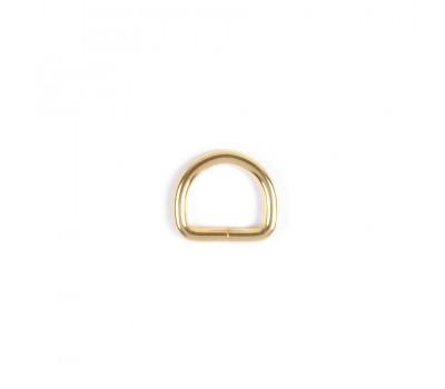 Полукольцо проволочное размер 4х20х15 мм. Золото