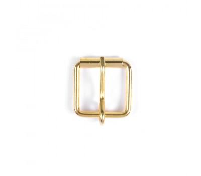 Пряжка металлическая  25мм Золото