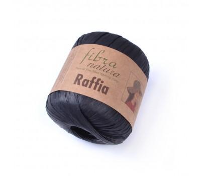 Рафия Fibranatura цвет Черный 116-12