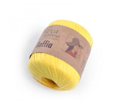 Рафия Fibranatura цвет Желтый 116-18