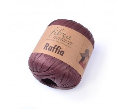 Рафия Fibranatura цвет Шоколад 116-03