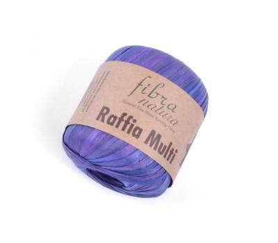 Рафия Fibranatura Multi цвет Фиолетовый 117-06