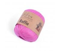 Рафия Fibranatura цвет Розовый 116-07