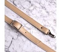 Ремешок из Эко-кожи с регулировкой и карабинами 110см.