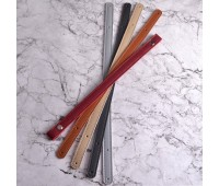 Комплект ручек из Эко-кожи для корзин и шоперов на винтах 60х1.5см.