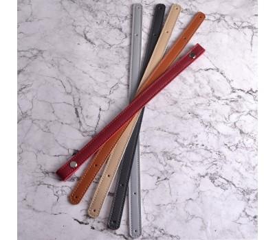Комплект ручек для корзин и шоперов на винтах 60х1.5см. Эко-кожа
