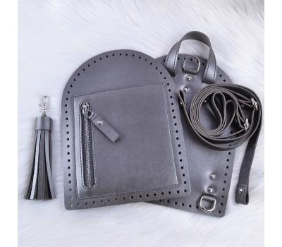 "Набор из Эко-кожи для рюкзака ""Zip"" (ремешки в один слой)"
