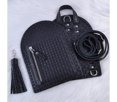 """Комплект из натуральной кожи для рюкзака """"Zip"""""""