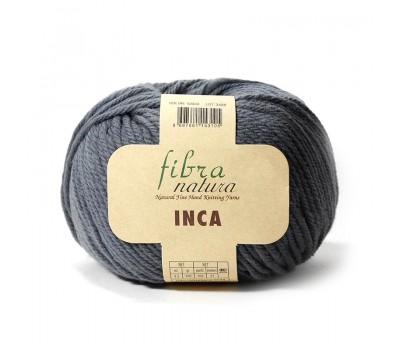 Пряжа  Fibranatura Inca Темно-серый