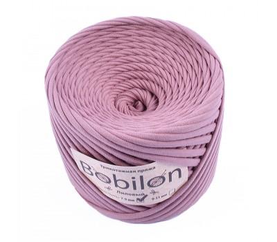 Трикотажная пряжа Bobilon (7-9 мм), цвет Лиловый