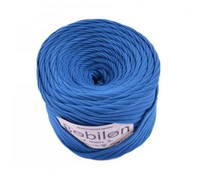 Трикотажная пряжа Bobilon (7-9 мм), цвет Индиго
