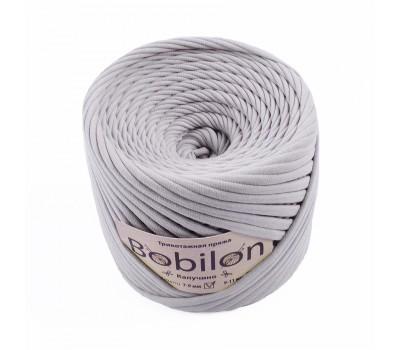 Трикотажная пряжа Bobilon (7-9 мм), цвет Капучино