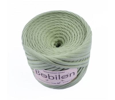 Трикотажная пряжа Bobilon (7-9 мм), цвет Оливковый