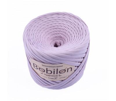 Трикотажная пряжа Bobilon (7-9 мм), цвет Пудровый