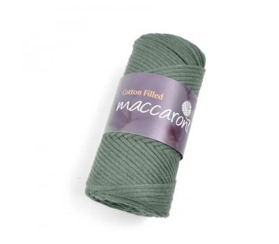 Трикотажный хлопковый шнур Cotton Filled 3 мм, цвет Хаки