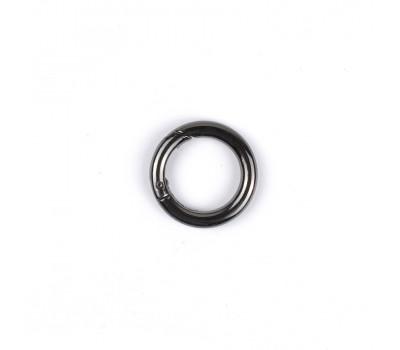 Кольцо карабин 6х25 мм. Черный никель