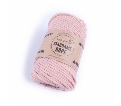 Эко шнур Macrame Rope 4 мм Розовая пудра