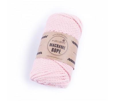 Эко шнур Macrame Rope 4 мм Розовый фламинго