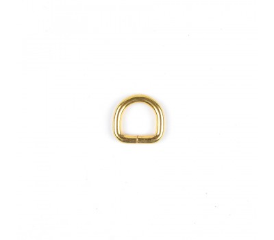 Полукольцо проволочное размер 4х15х15 мм. Золото