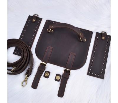 Набор из натуральной кожи для мужской сумки