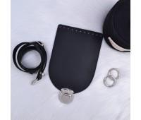 Комплект из Эко-кожи для сумки Орео с цельным ремешком с регулировкой