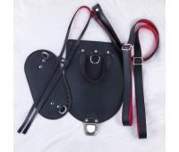 Набор из Эко-кожи в один слой для рюкзака